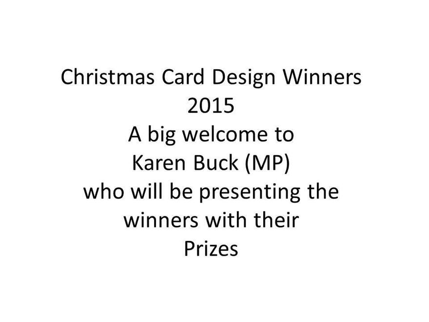 Christms Card Winning Designs