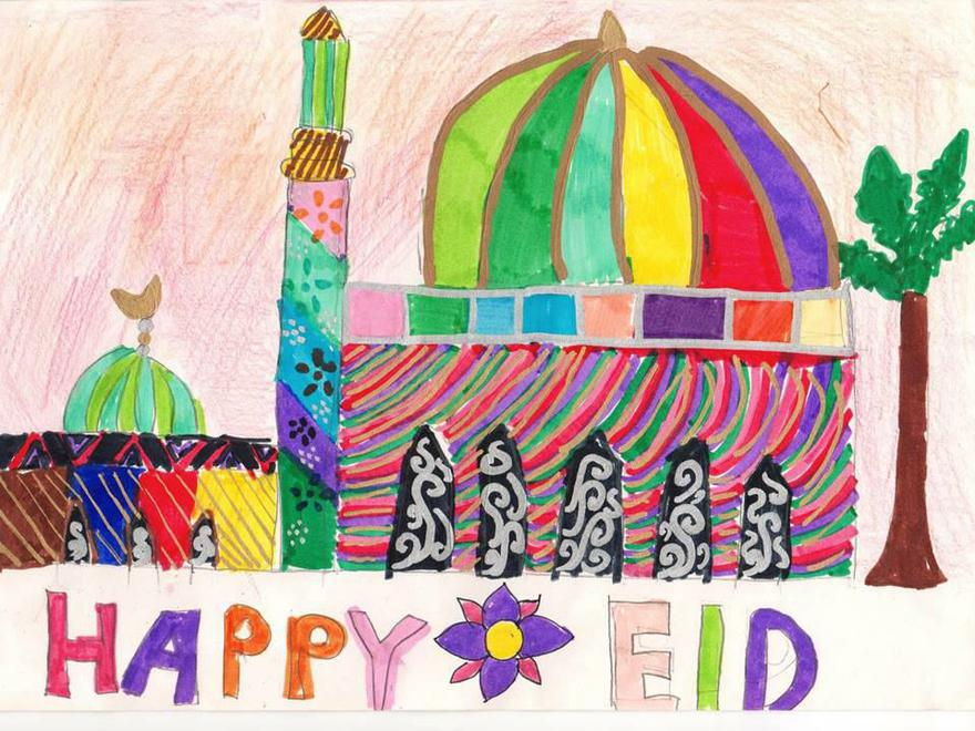 Winning Eid Card Design