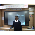 Confidence and a PowerPoint presentation - wow!