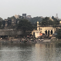 Washing clothes in the River Ganges