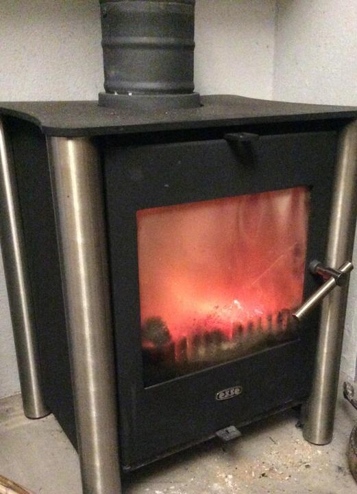 A cosy warm STOVE was very welcome.