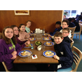 Hearty food at meal times