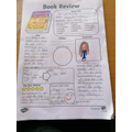 Kaya's amazing book review of The Cat Mummy!