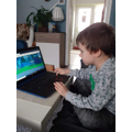 Leon playing Be Internet Legends