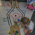Wow! Look at Anastasia's car track! We love it!