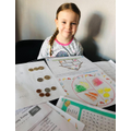 Layla's home learning