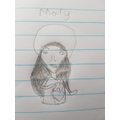 Zimi's image of Mary during her special month.