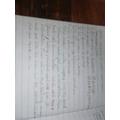 Beautiful handwriting Anna.