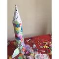 We love Anastasia's rocket - so creative!