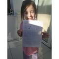 Daisie's story retell