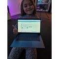 Melody's certificate of completion on Code.Org!
