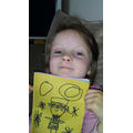 Alexa made her own book! An author in the making!
