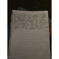 Skyla's English work