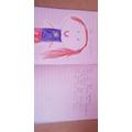 Maria designed her own superhero
