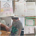 Some of Jacob's home learning