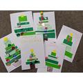 Making Christmas cards for the elderly