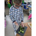 Chopping vegetables - World Book Day