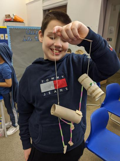 Making our own string puppet