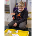 Attention Autism - Snowman splat!