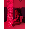 Enjoying some calm time in the sensory room