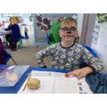 Measuring vegetables - World Book Day