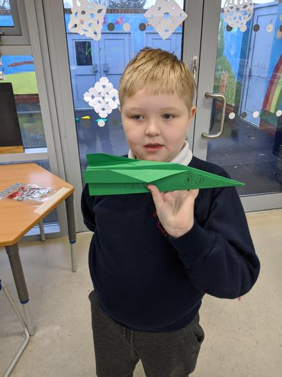 Experimenting with paper planes