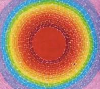 Example of Alma Thomas's artwork