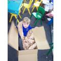 Cardboard boxes!