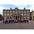 Class 1 outside Weston Park.