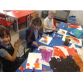 Children start to create their own pictures