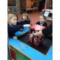children building a platform