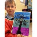 Wonderful Winter Tree Art