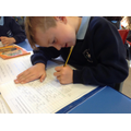 Child write about The Great Fire of London