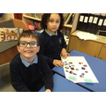 Children sorted pictures into categories.