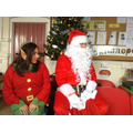 Santa and his Head Elf.