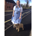 Mrs Whitefoot as Dorothy
