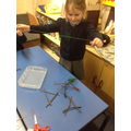 Making star sticks