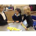 Children make a rope