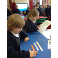 Comparing length - long, short, tall or small
