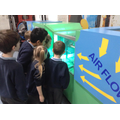 Children find out about airflow.