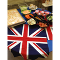 Royal Lunch spread.