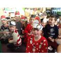 Children waiting to see Santa