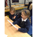 Children make rockets.