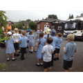 Class 2 with Munch the recycling lorry.