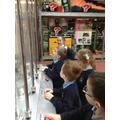 Children explore Enginuity in Ironbridge.