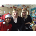Mrs Wellman, Mrs Williams and Mrs Harris