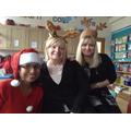 Mrs Wellman, Mrs Williams and Mrs Harris
