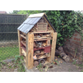 The school bug hotel in our nature area