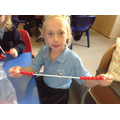 Using bead strings to find number bonds to 10.