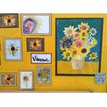 Children's Sunflower Art